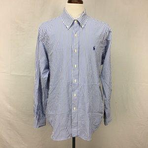 Ralph Lauren Striped Performance Button Down Shirt